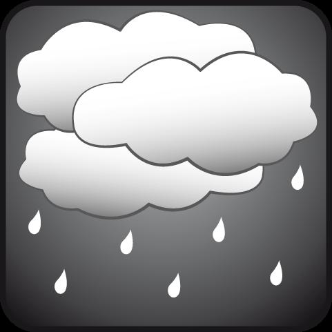Nublado con lluvias